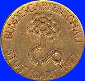 Goldmedaille Bundesgartenschau 1977